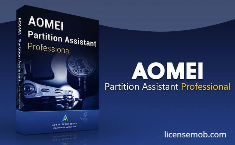 Aomei Partition Assistant Crack Free License Key
