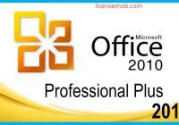 Microsoft Office Professional Plus 2010 Full Crack Serial Key