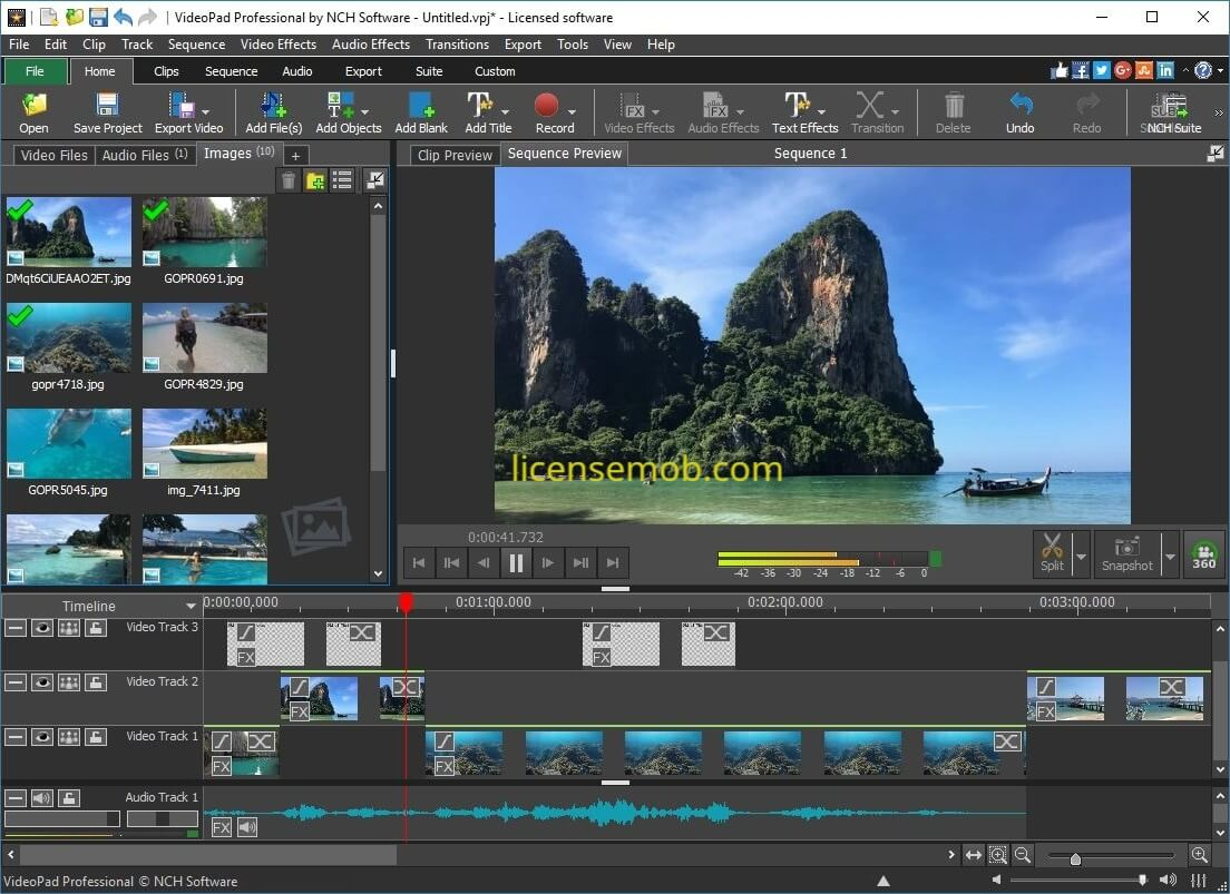 VideoPad Video Editor Pro Full Version Crack With Keygen