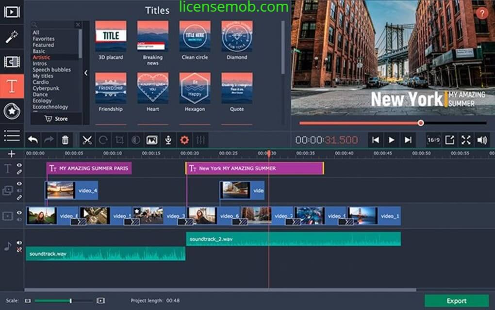 Movavi Video Editor Crack With Serial Key Full Download