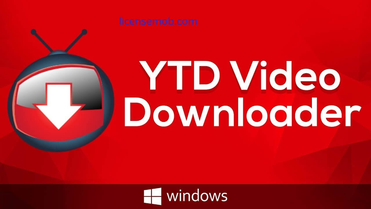 YTD Video Downloader Pro Crack With Serial Key Full Latest from licensemob.com